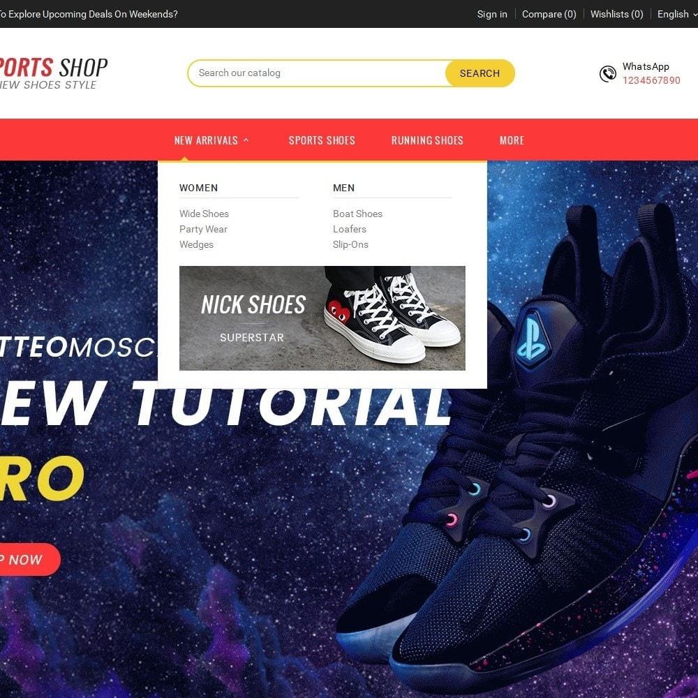 theme - Deportes, Actividades y Viajes - Sport Shoes & Footwear - 10
