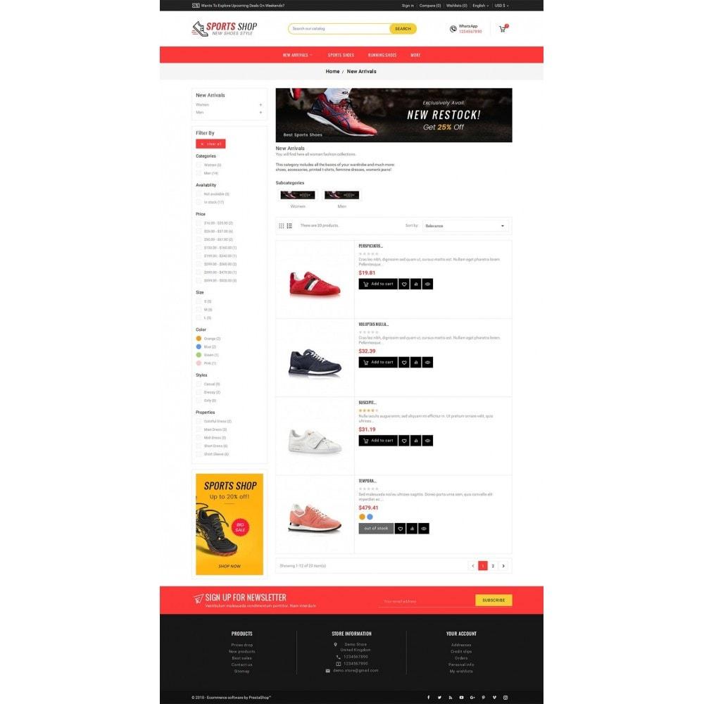 theme - Sport, Aktivitäten & Reise - Sport Shoes & Footwear - 5