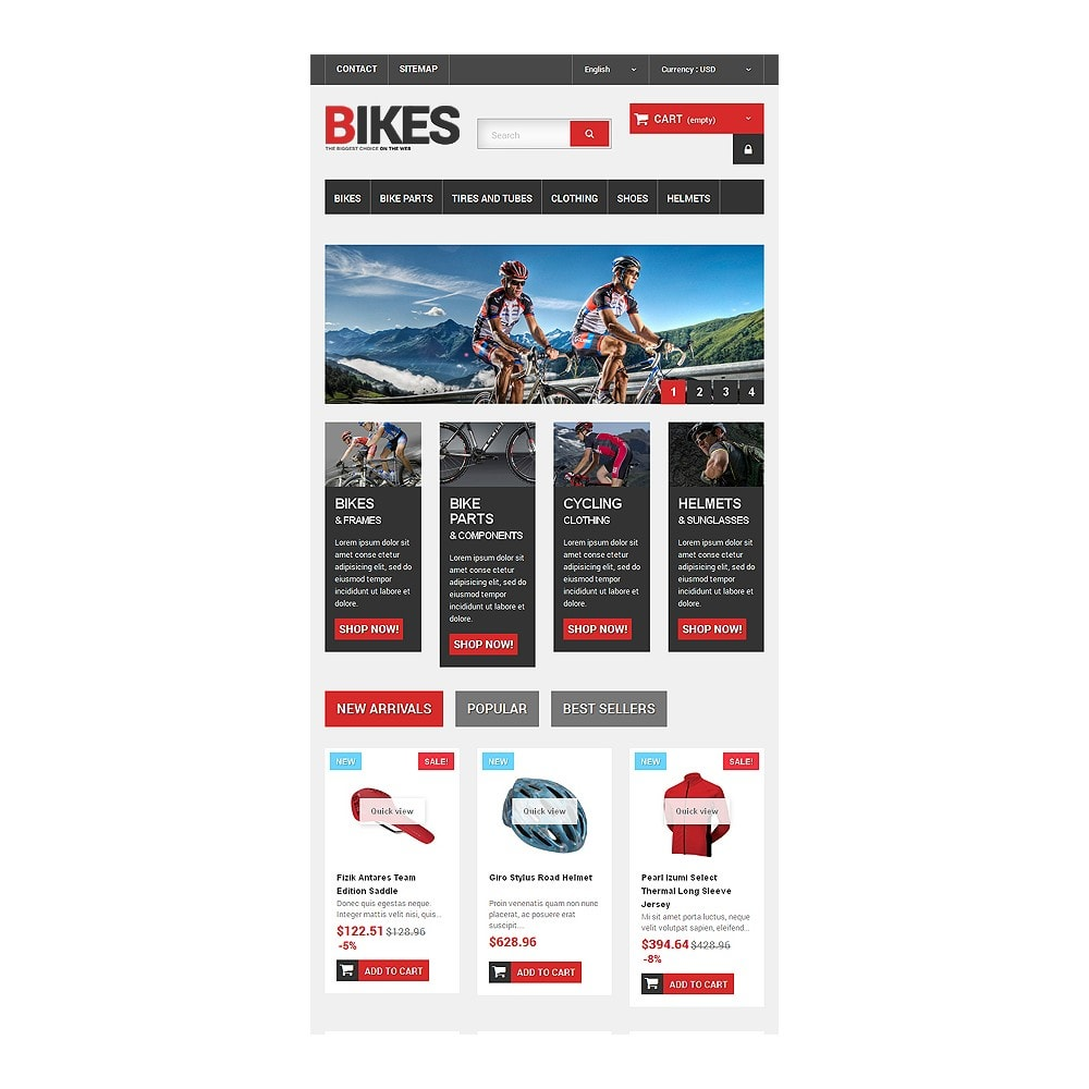 theme - Sports, Activities & Travel - Bikes Store - 7