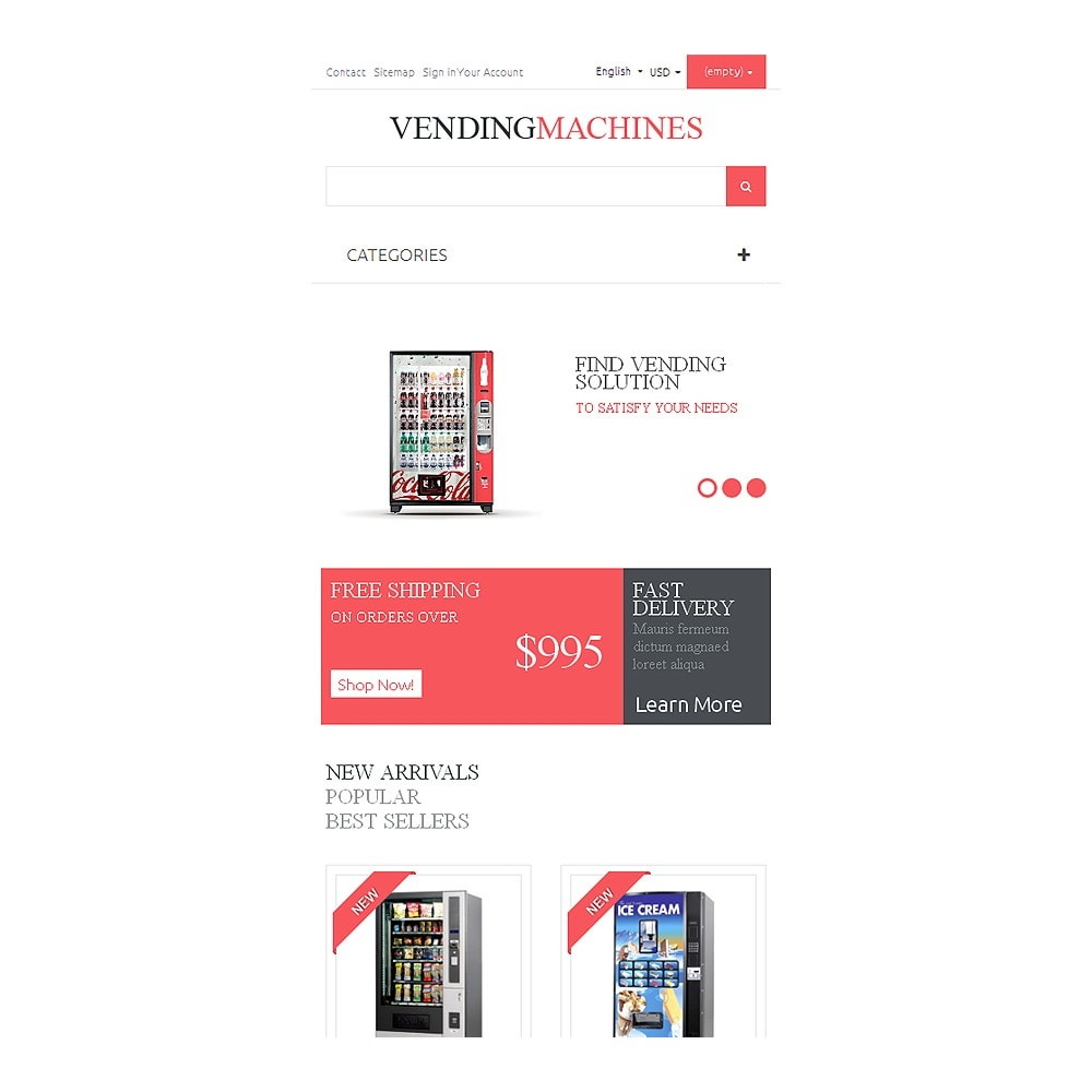 theme - Alimentation & Restauration - Vending Machines - 8