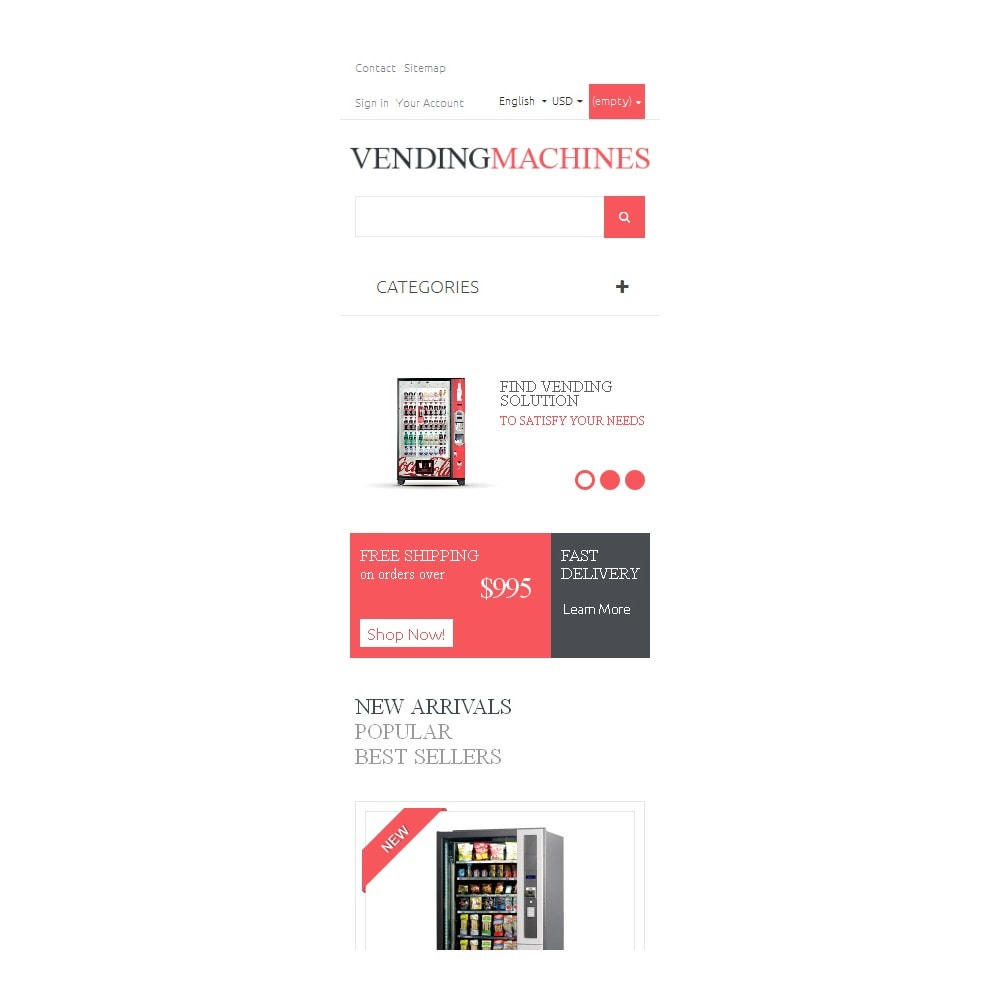 theme - Lebensmittel & Restaurants - Vending Machines - 9