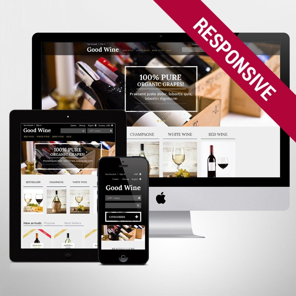 theme - Lebensmittel & Restaurants - Wine of Superior Quality - 1