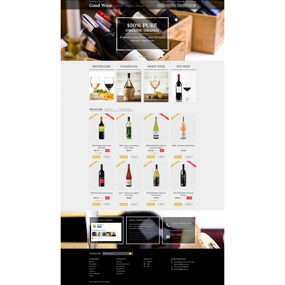 theme - Продовольствие и рестораны - Wine of Superior Quality - 2