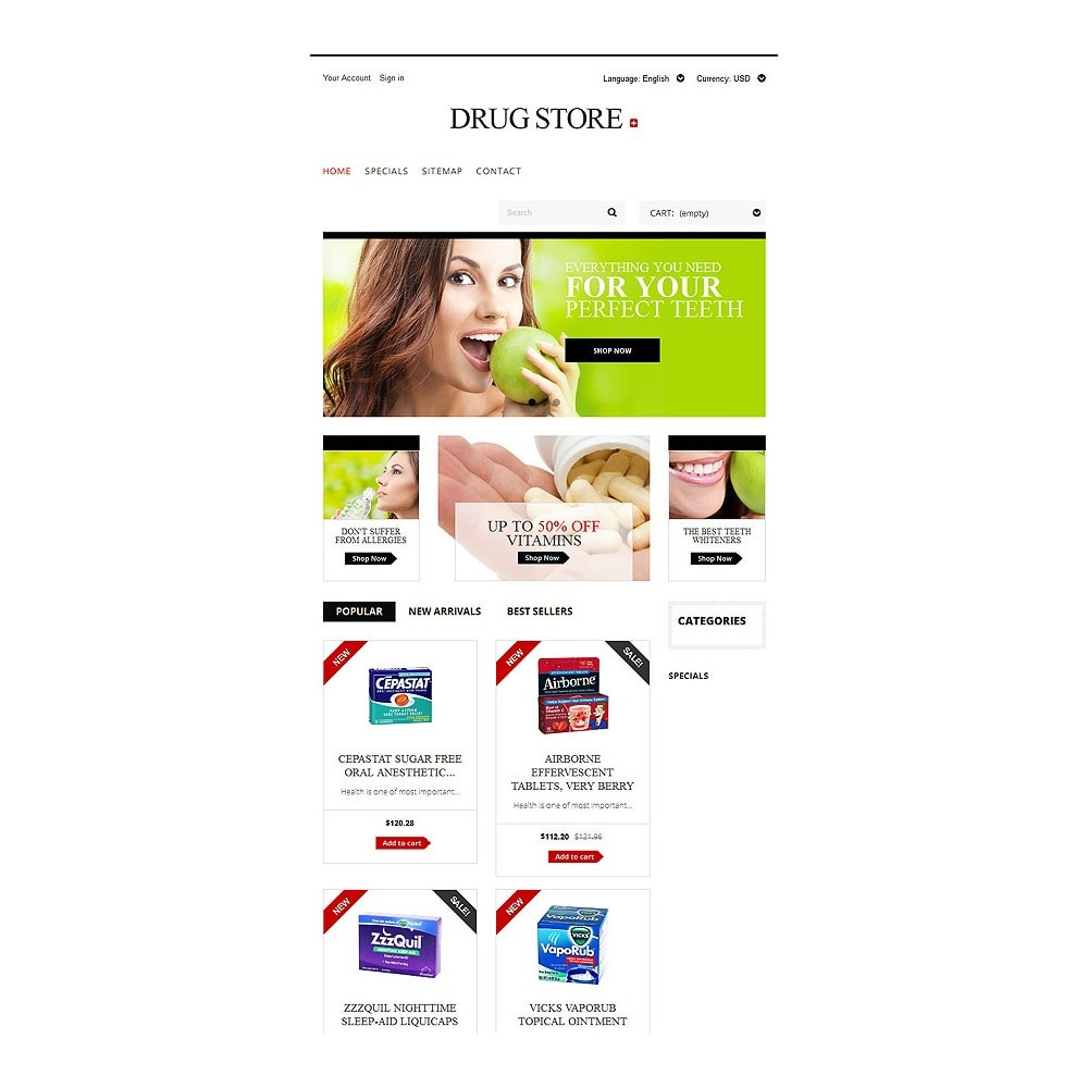 theme - Health & Beauty - Drug Store - 7