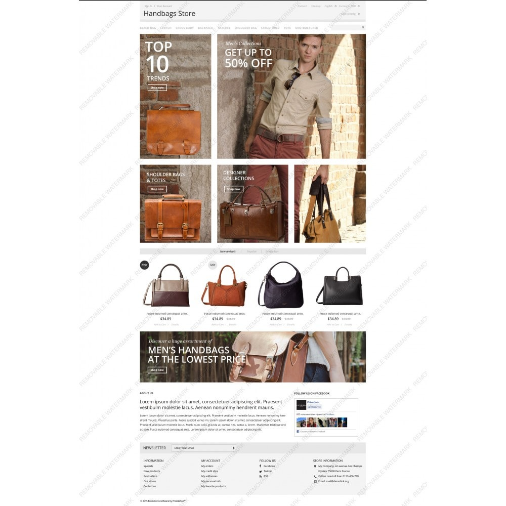 theme - Moda & Calzature - Handbags Store - 5