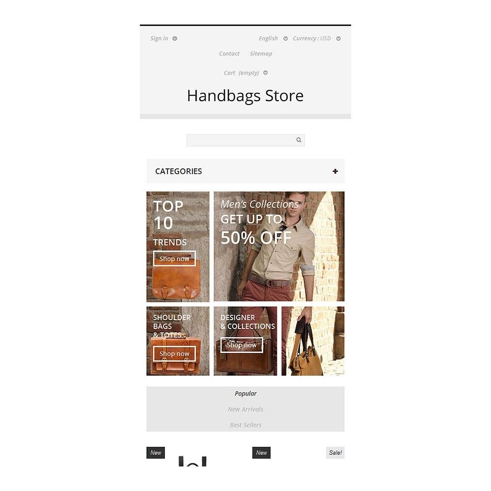 theme - Moda & Calzature - Handbags Store - 8
