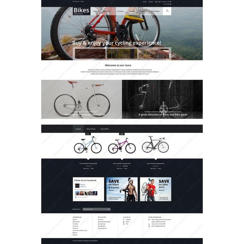 theme - Sport, Rozrywka & Podróże - Bike Store - 5