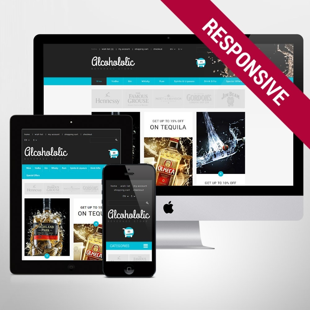 theme - Lebensmittel & Restaurants - Alkoholika-Onlineshop - 1
