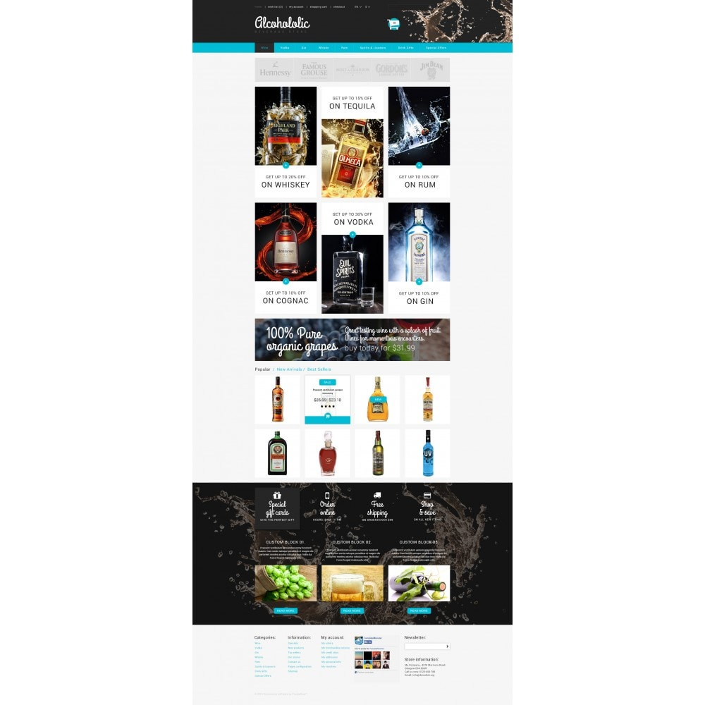 theme - Lebensmittel & Restaurants - Alkoholika-Onlineshop - 4