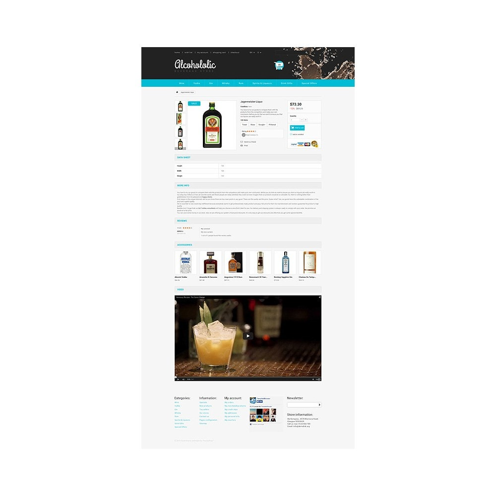 theme - Lebensmittel & Restaurants - Alkoholika-Onlineshop - 6