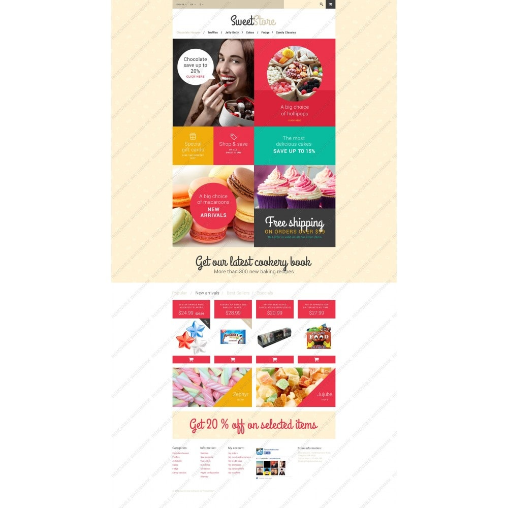 theme - Lebensmittel & Restaurants - Sweetie - 5