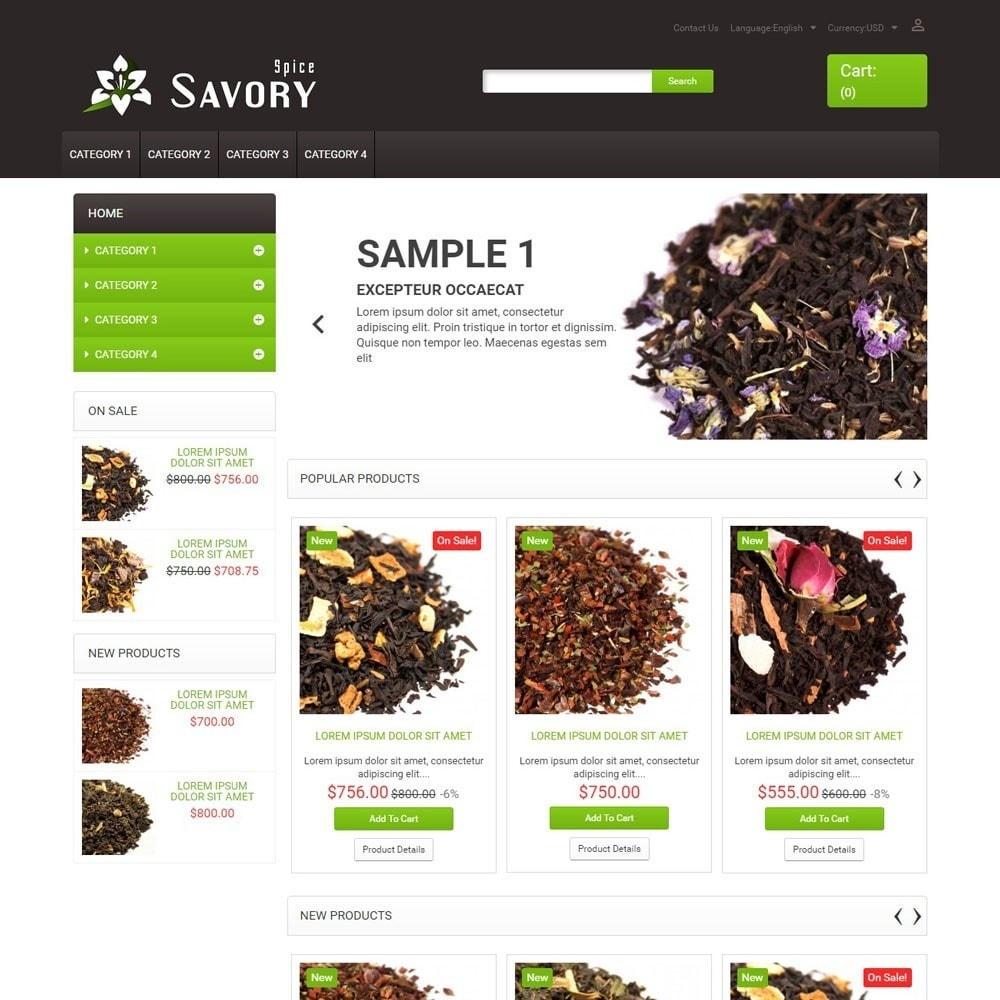 theme - Lebensmittel & Restaurants - SavorySpice - 1