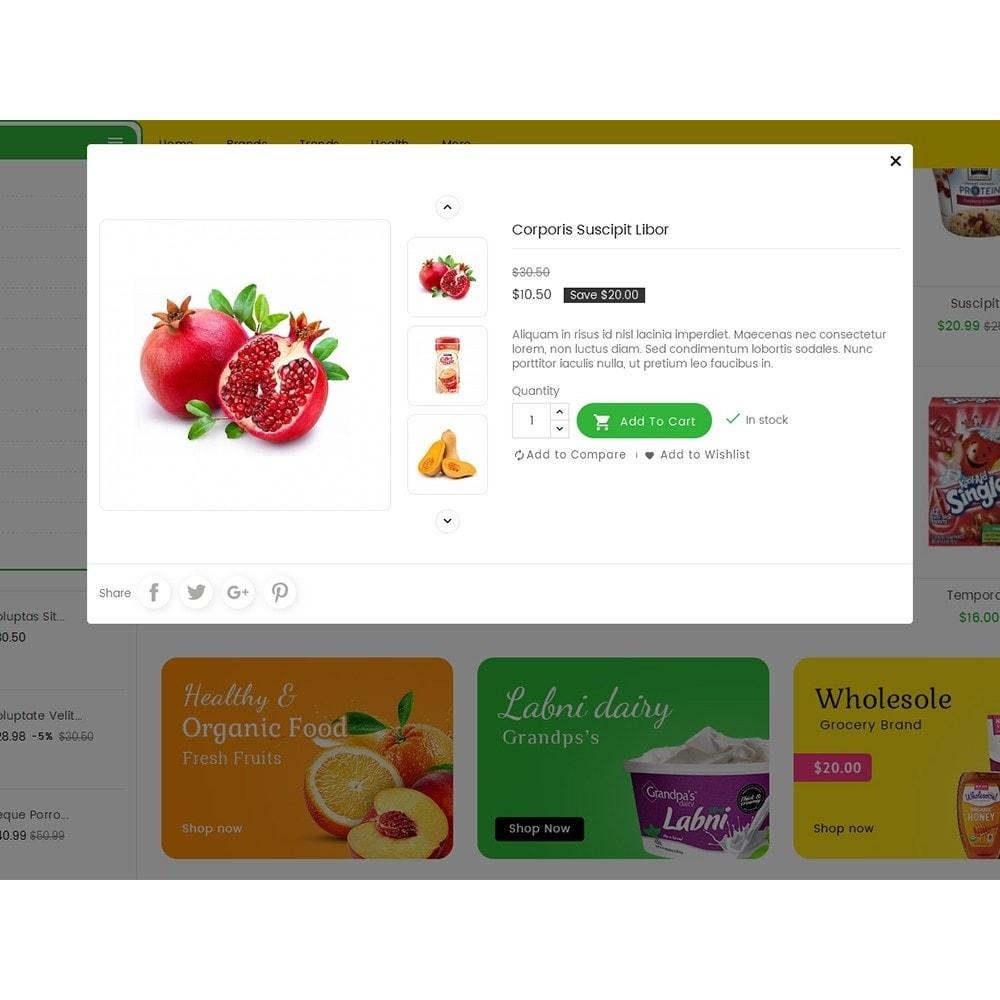theme - Alimentation & Restauration - Mega Trone Grocery - 9