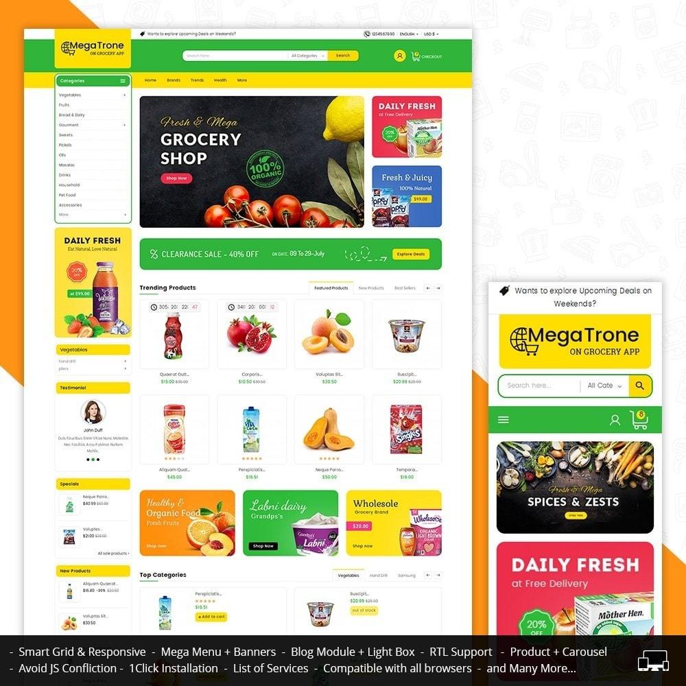 theme - Lebensmittel & Restaurants - Mega Trone Grocery - 2