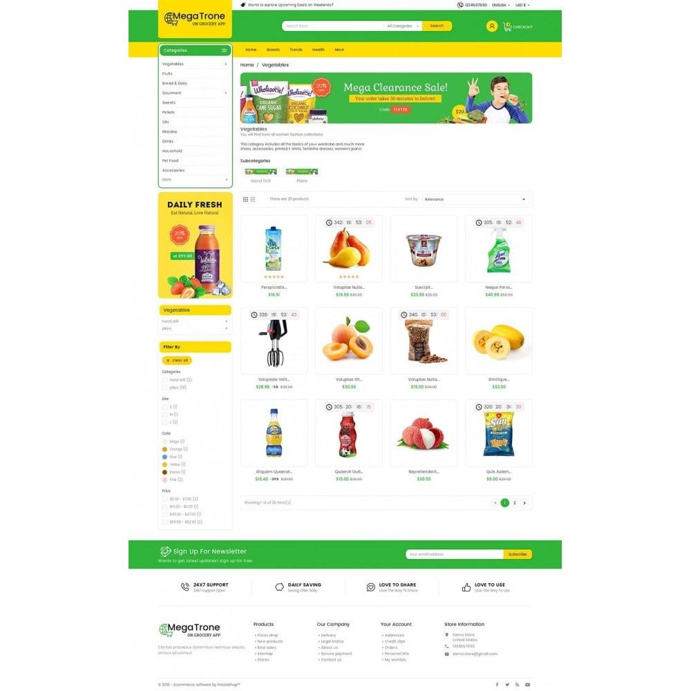 theme - Cibo & Ristorazione - Mega Trone Grocery - 4