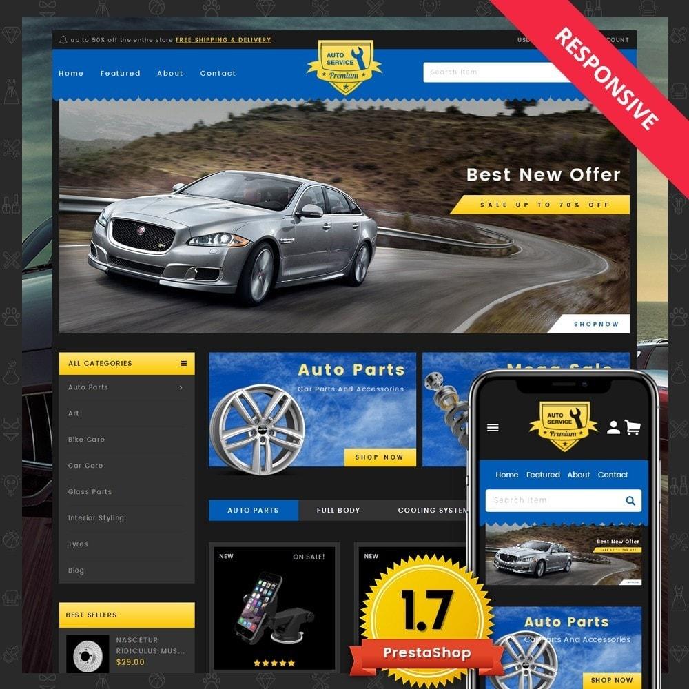theme - Carros & Motos - Auto Service - Premium Store - 1