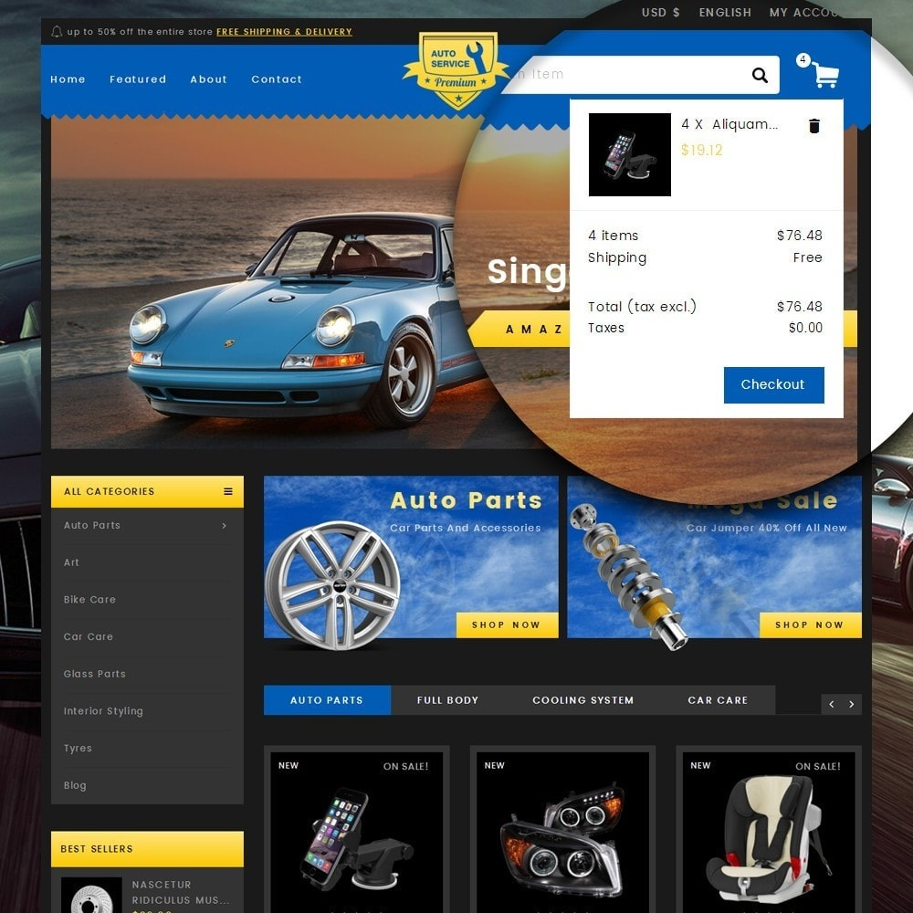theme - Carros & Motos - Auto Service - Premium Store - 7