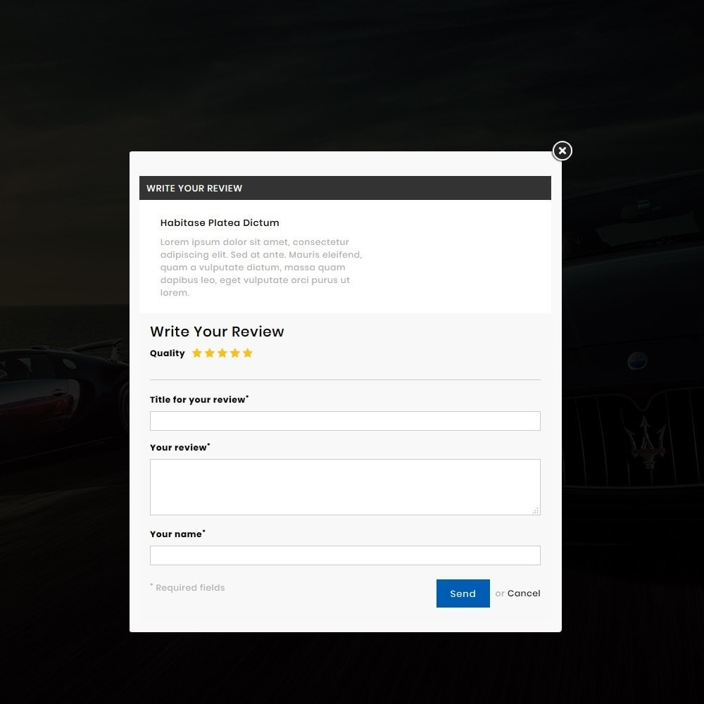 theme - Carros & Motos - Auto Service - Premium Store - 9