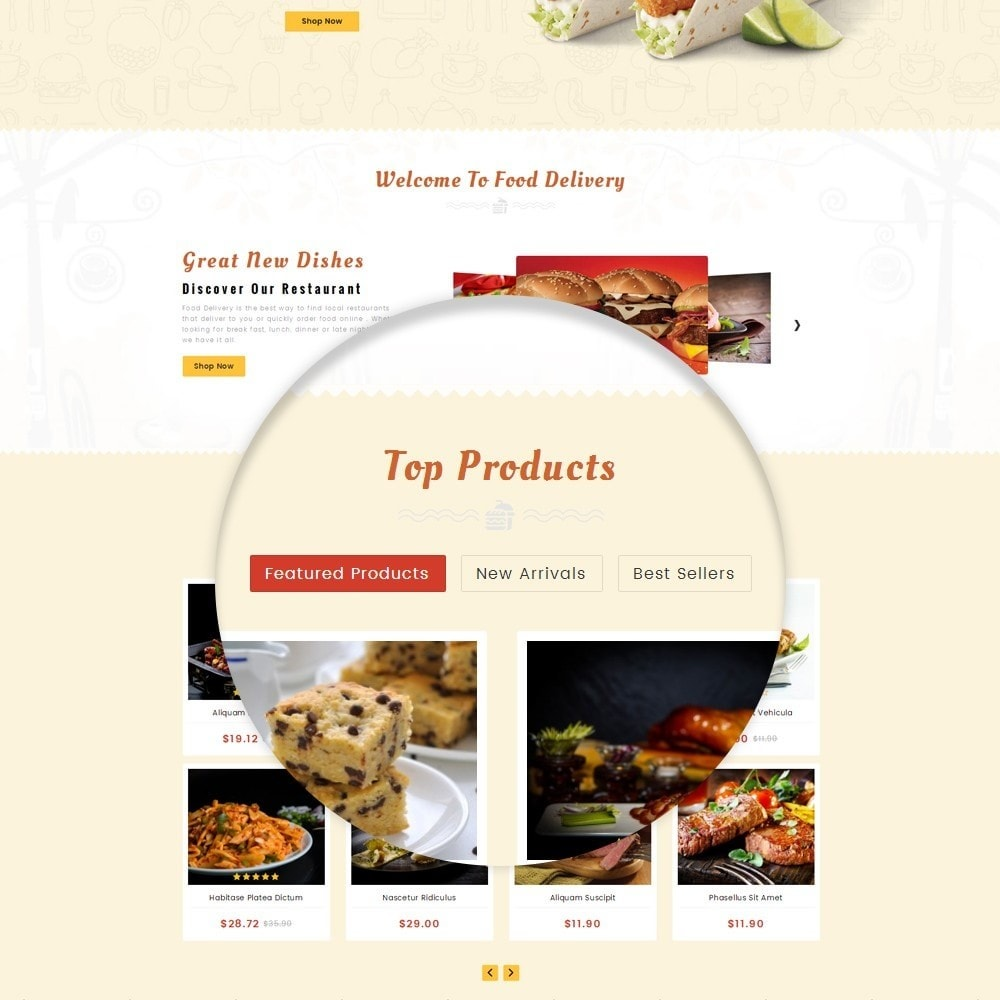 theme - Lebensmittel & Restaurants - Restaurant Food Store - 8