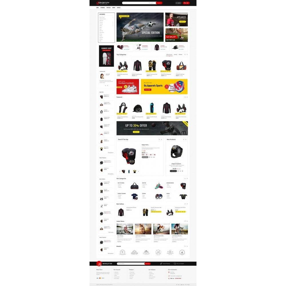 theme - Deportes, Actividades y Viajes - Mega Shoppe Sports - 3
