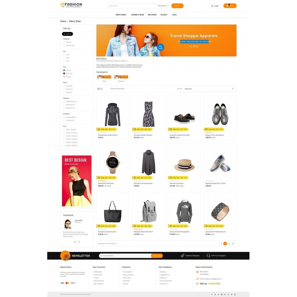 theme - Moda y Calzado - Mega Shoppe Fashion - 4