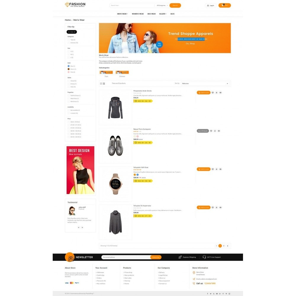 theme - Moda y Calzado - Mega Shoppe Fashion - 5