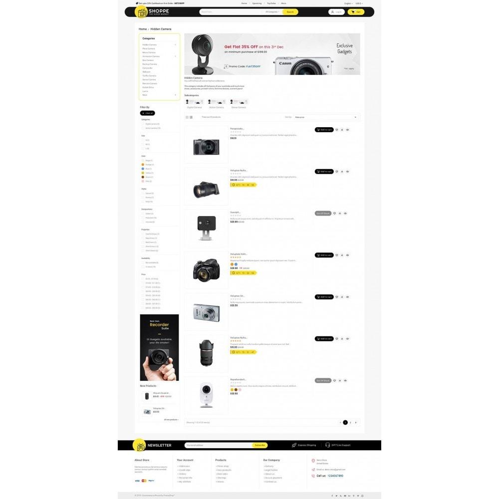 theme - Elettronica & High Tech - Mega Shoppe Camera - 5