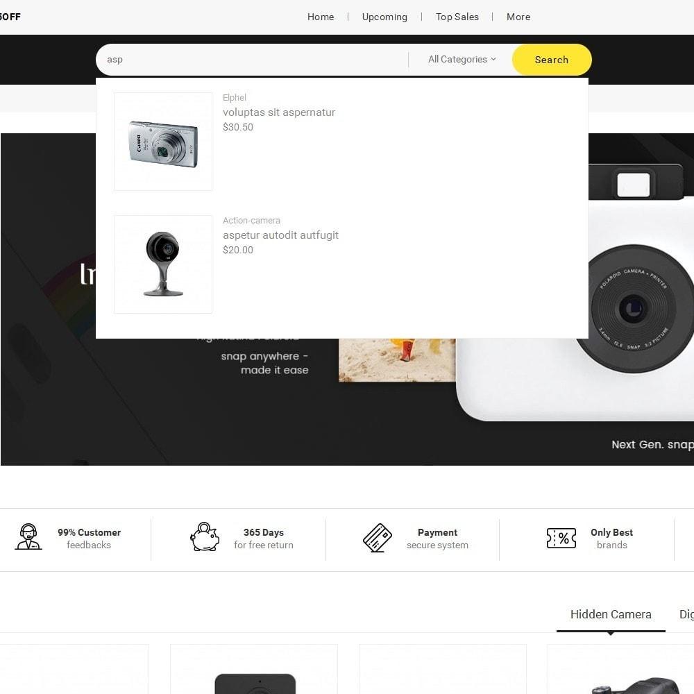 theme - Elettronica & High Tech - Mega Shoppe Camera - 11