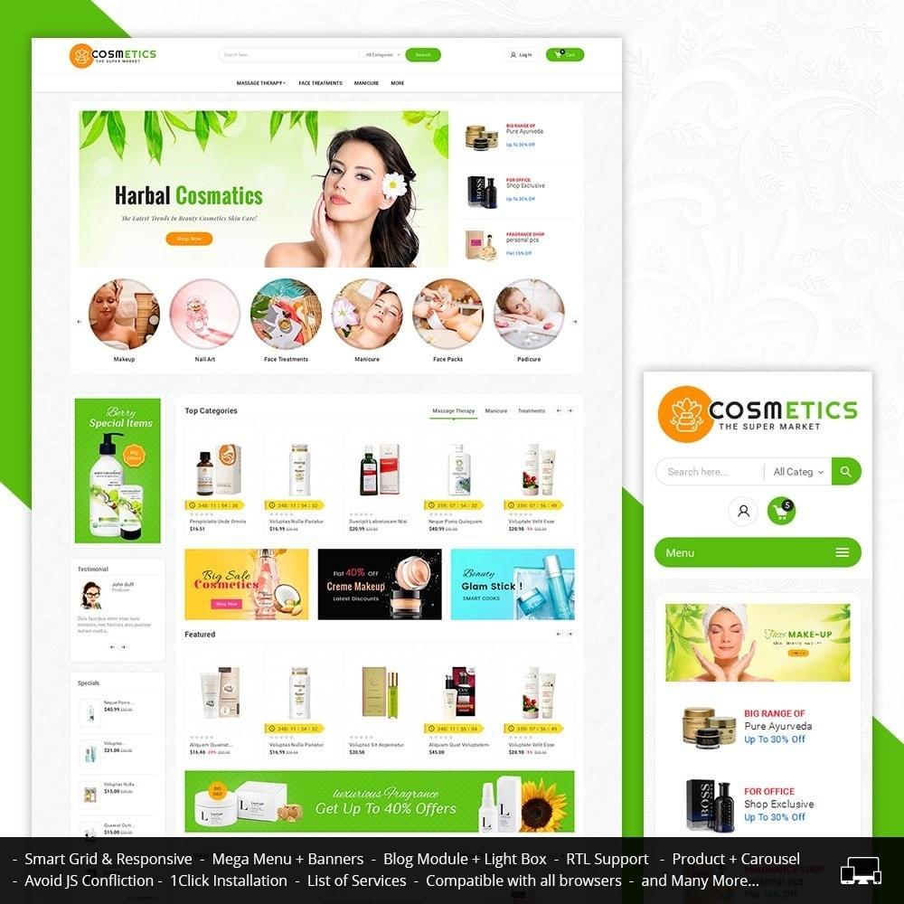 theme - Gesundheit & Schönheit - Mega Shoppe Bio Cosmetics - 2