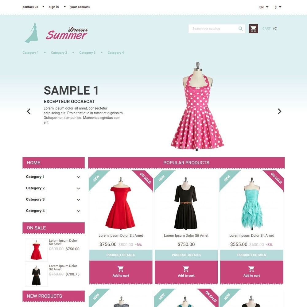 theme - Moda & Calzature - SummerDresses - 1