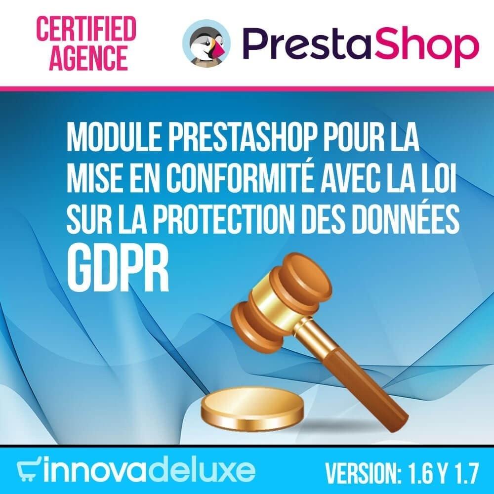 module - Législation - Conformité à la Loi sur la protection des données RGPD - 1
