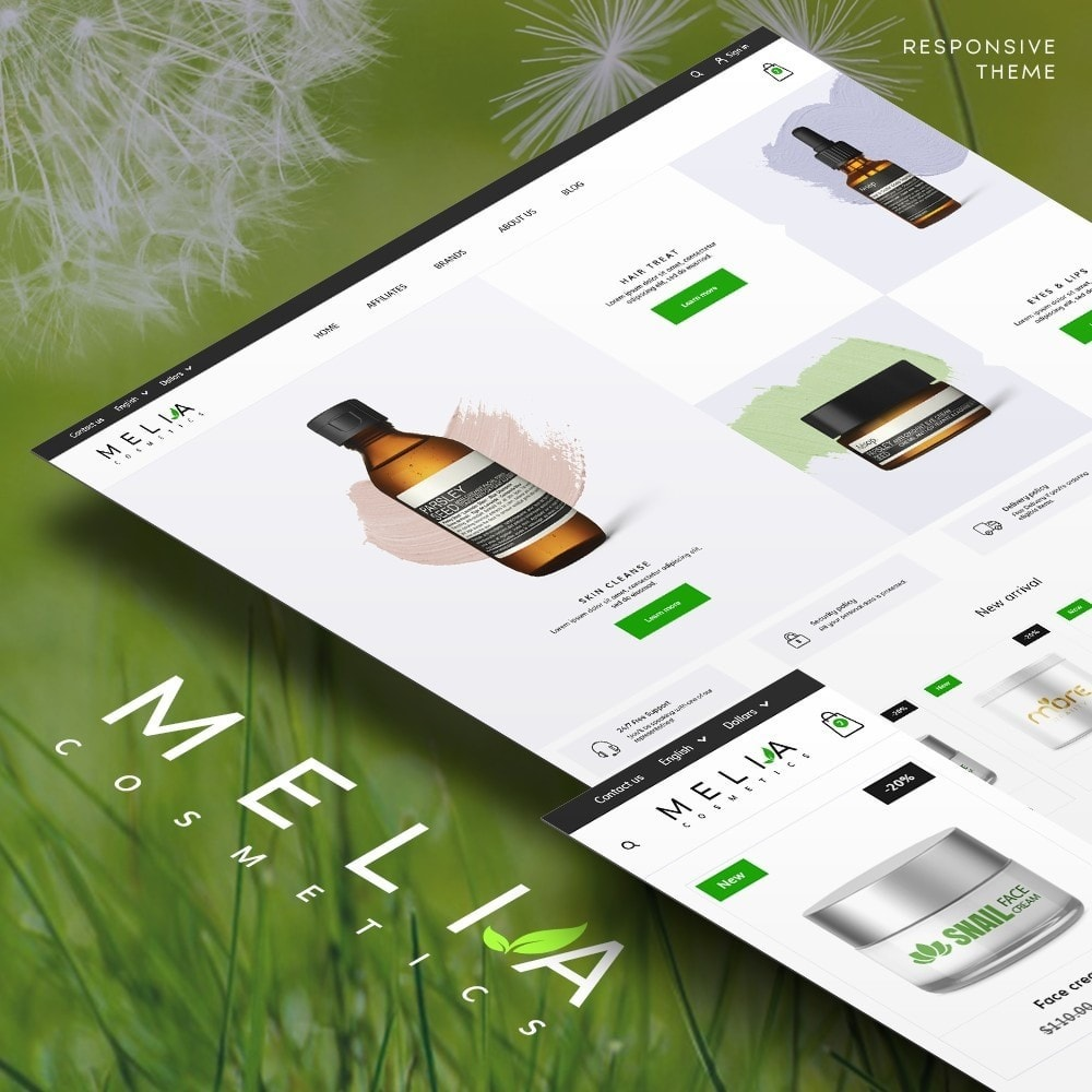 theme - Health & Beauty - Melia Cosmetics - 1