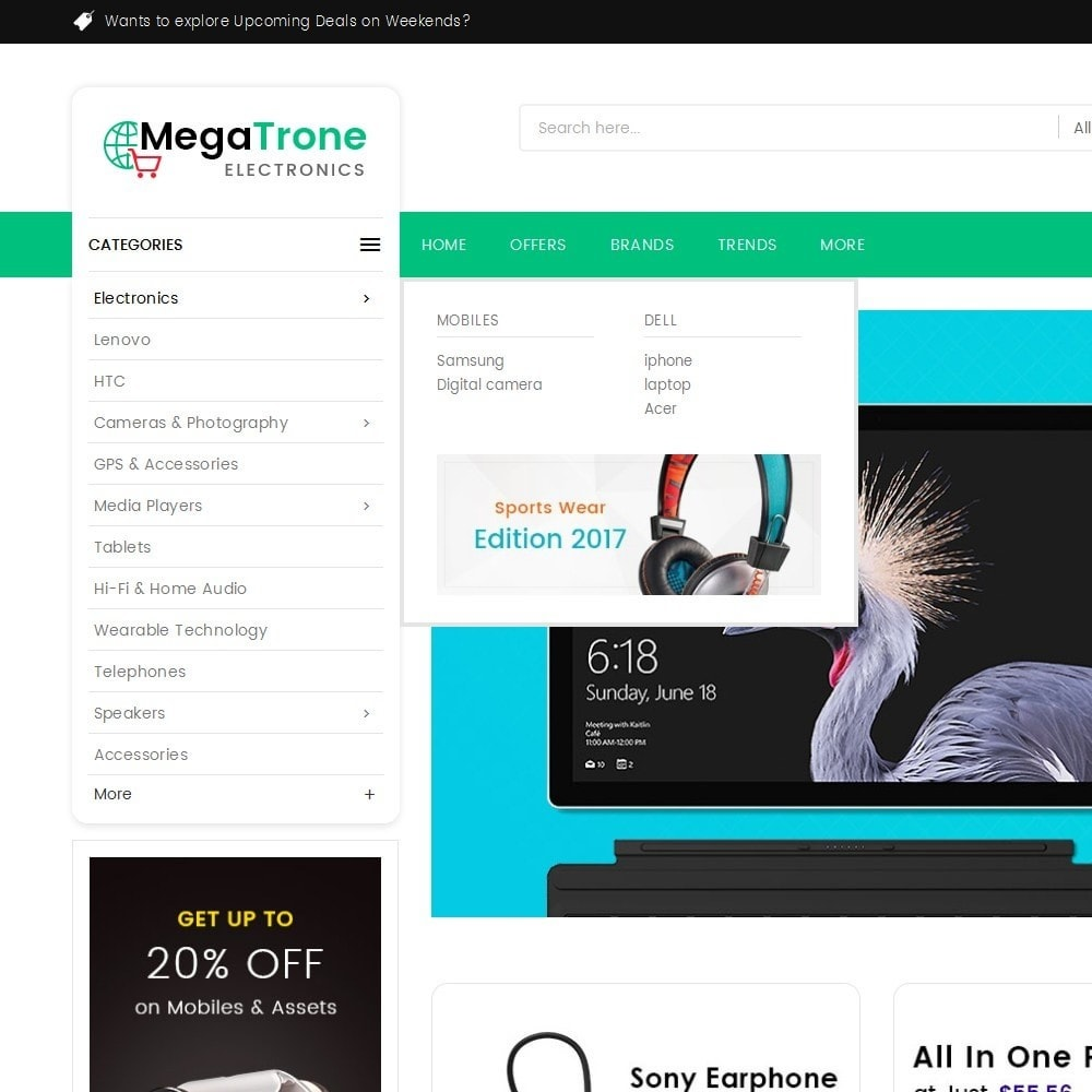 theme - Elettronica & High Tech - Mega Shop Electronics - 10
