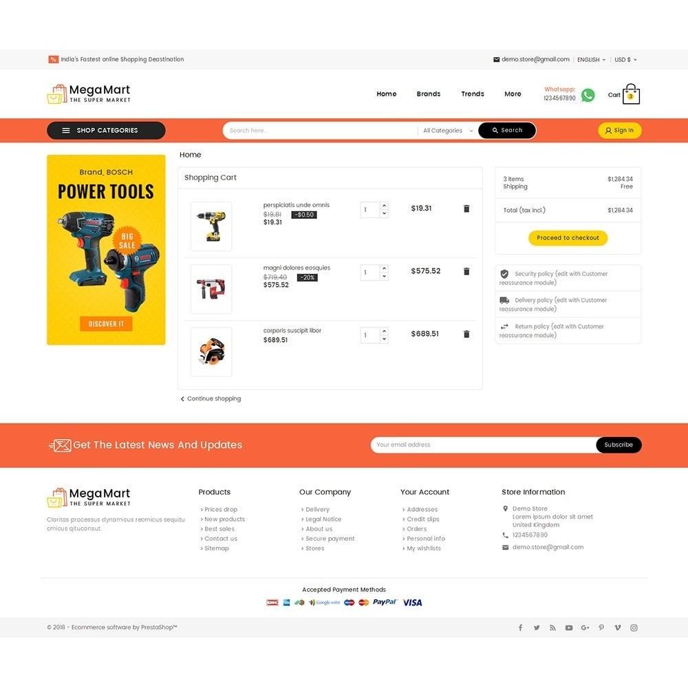 theme - Electrónica e High Tech - Mega Mart Tools Equipment - 7