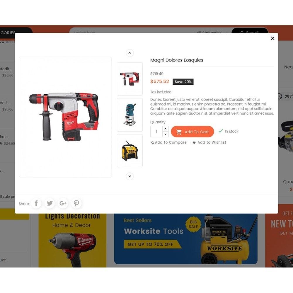 theme - Electrónica e High Tech - Mega Mart Tools Equipment - 9