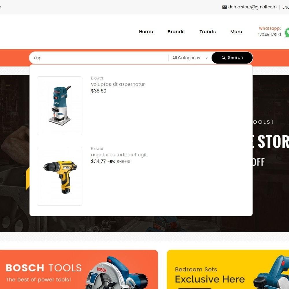 theme - Electrónica e High Tech - Mega Mart Tools Equipment - 11