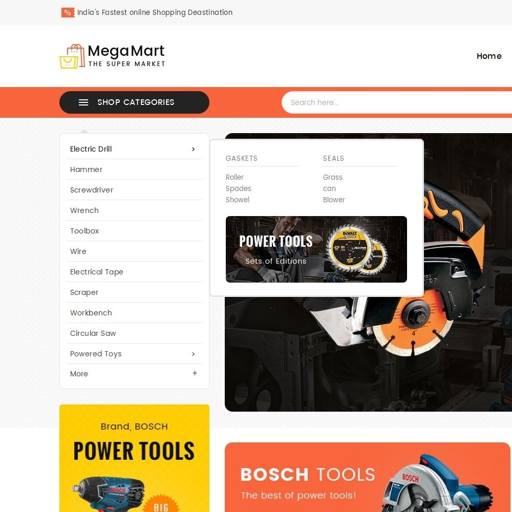 theme - Elettronica & High Tech - Mega Mart Tools Equipment - 10
