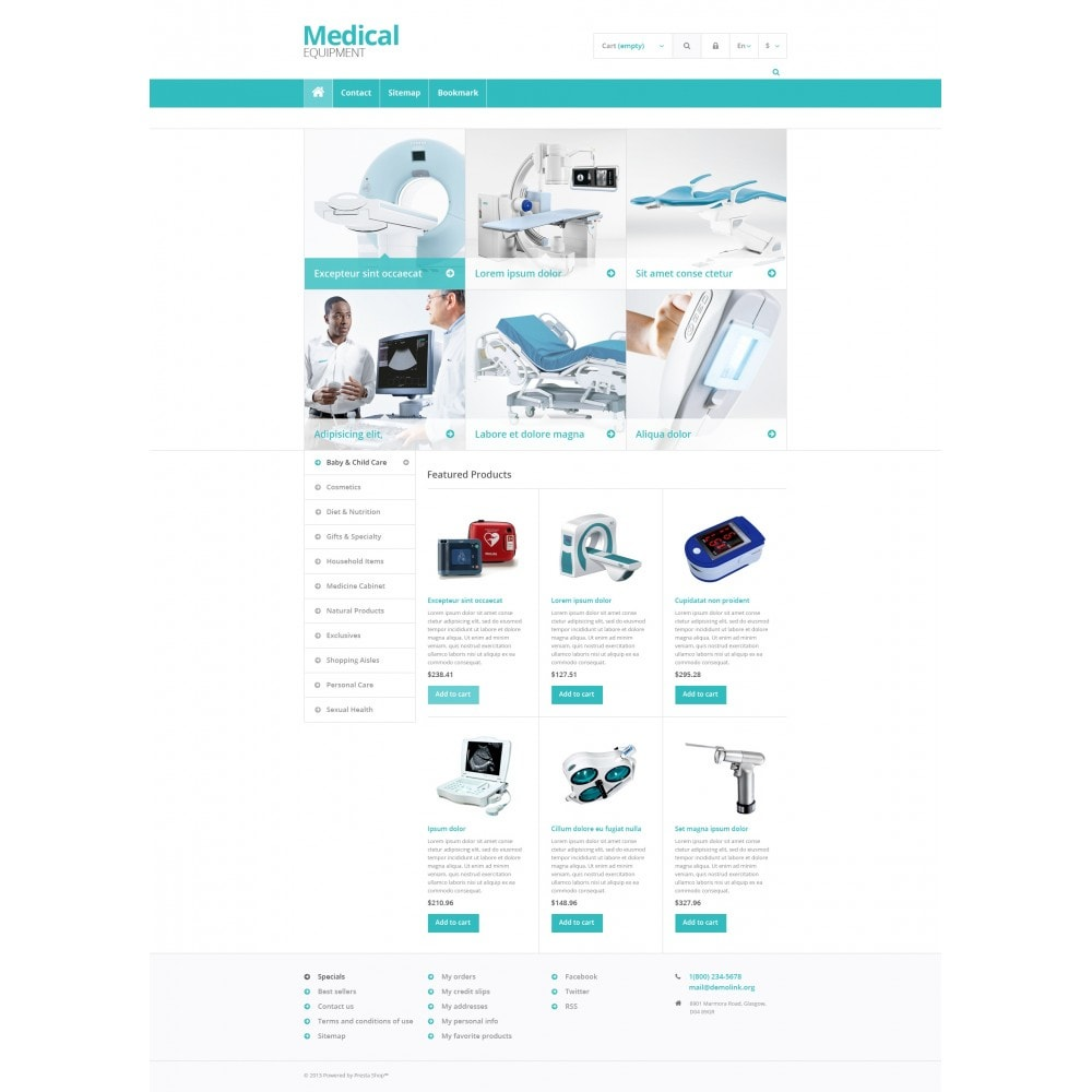 theme - Salud y Belleza - Medical Equipment Store - 4