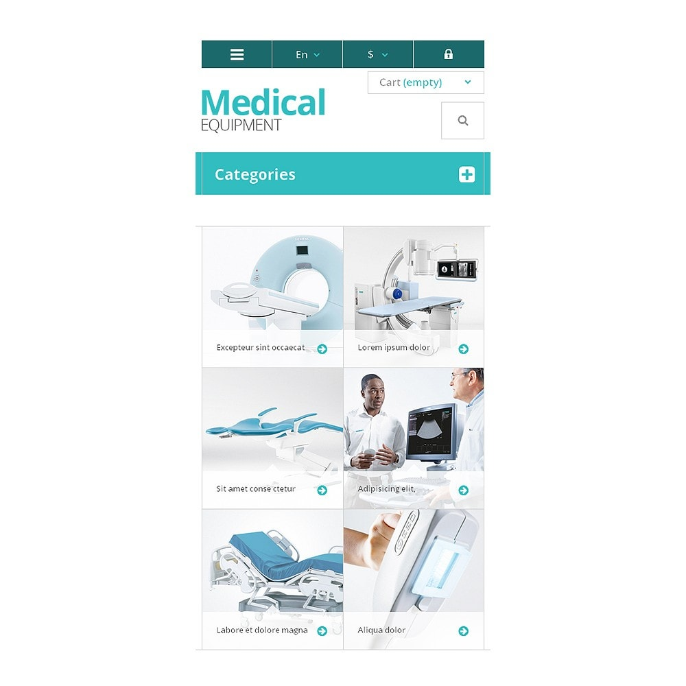 theme - Salud y Belleza - Medical Equipment Store - 8