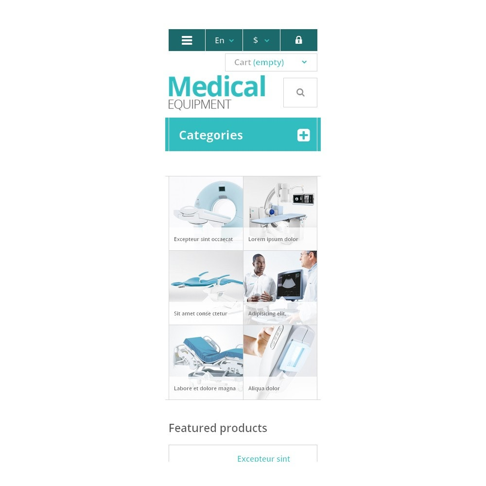 theme - Salud y Belleza - Medical Equipment Store - 9