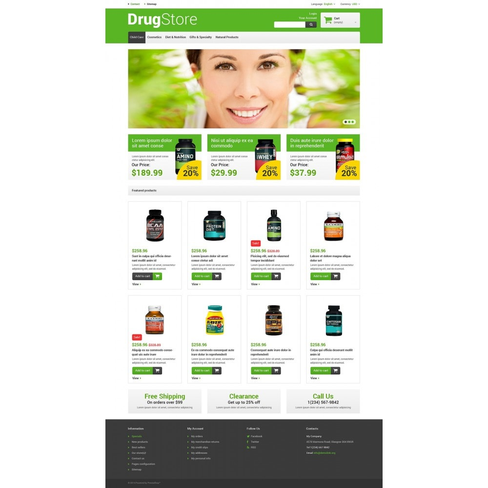 theme - Salud y Belleza - Reliable Drugstore - 2