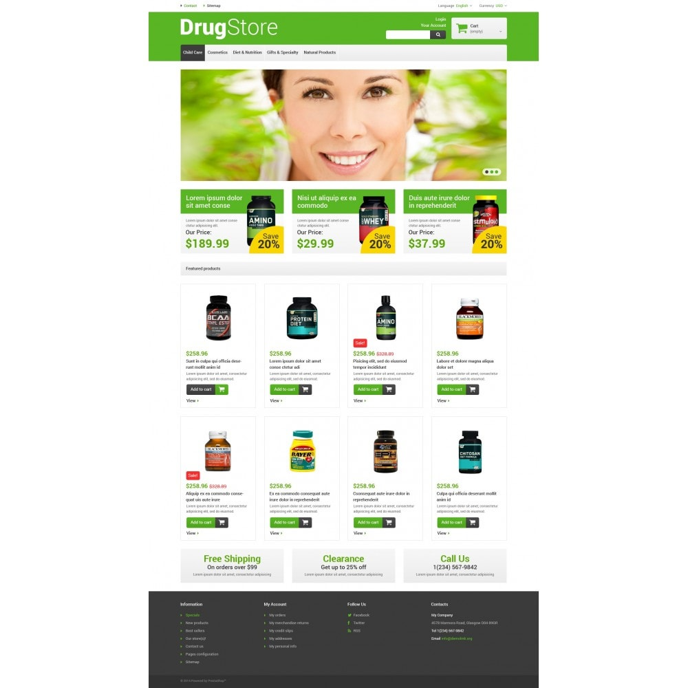 theme - Santé & Beauté - Reliable Drugstore - 4
