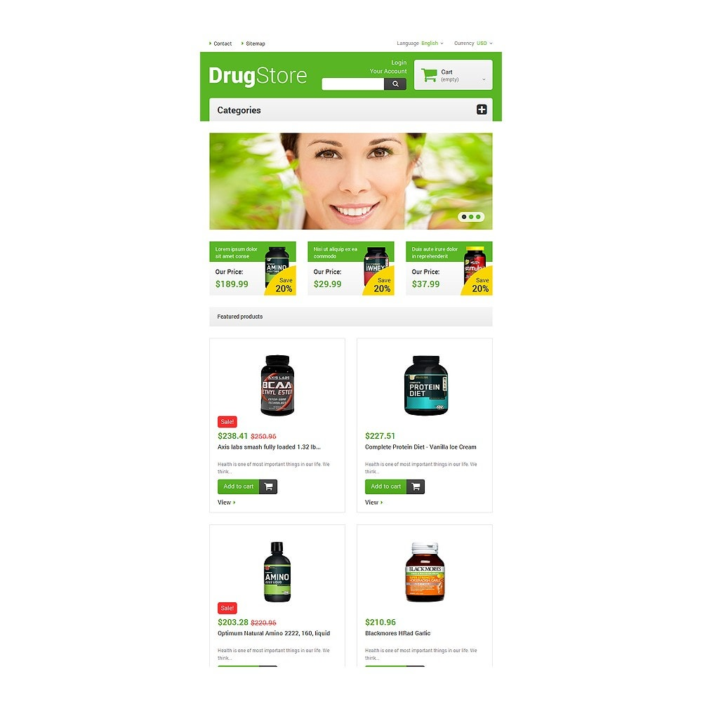 theme - Salud y Belleza - Reliable Drugstore - 7