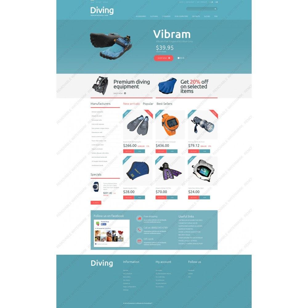 theme - Sport, Loisirs & Voyage - Diving Shop - 3