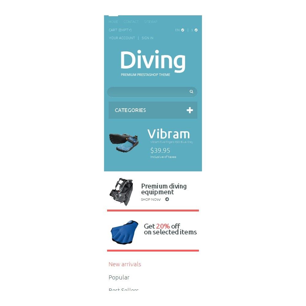 theme - Спорт и Путешествия - Diving Shop - 9