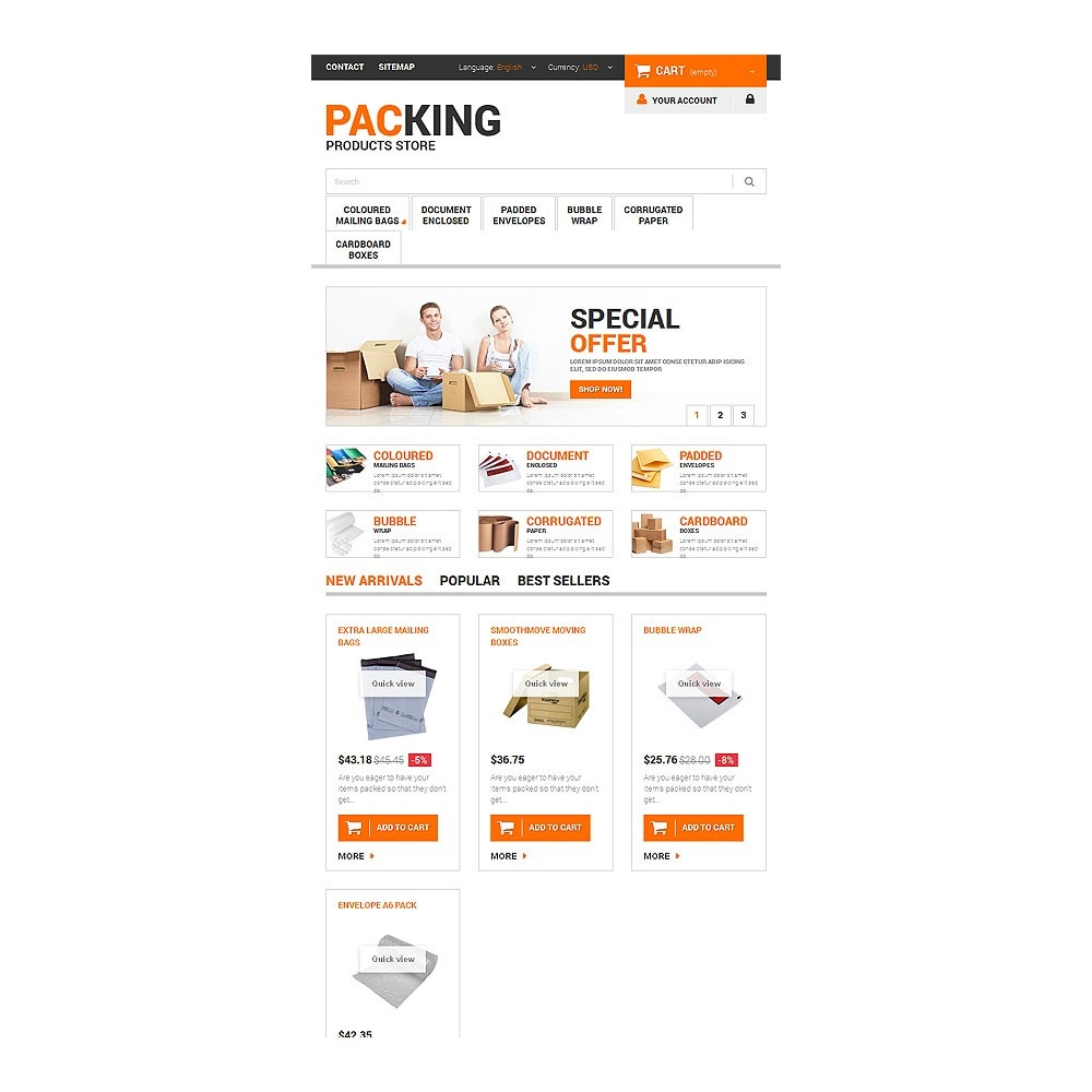 theme - Дом и сад - Excellent Packing Services - 7