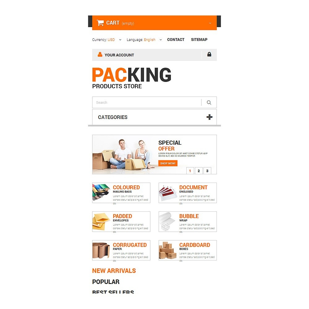 theme - Dom & Ogród - Excellent Packing Services - 8