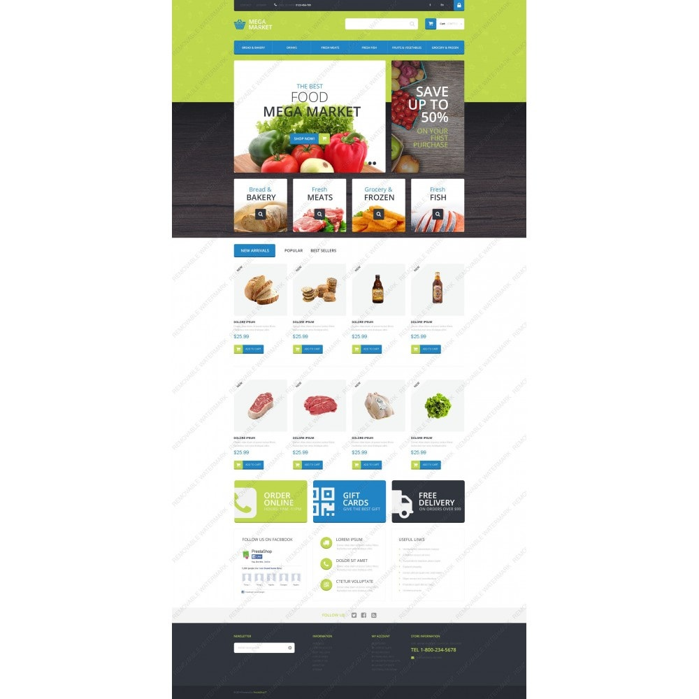 theme - Eten & Restaurant - Food Shop - 3