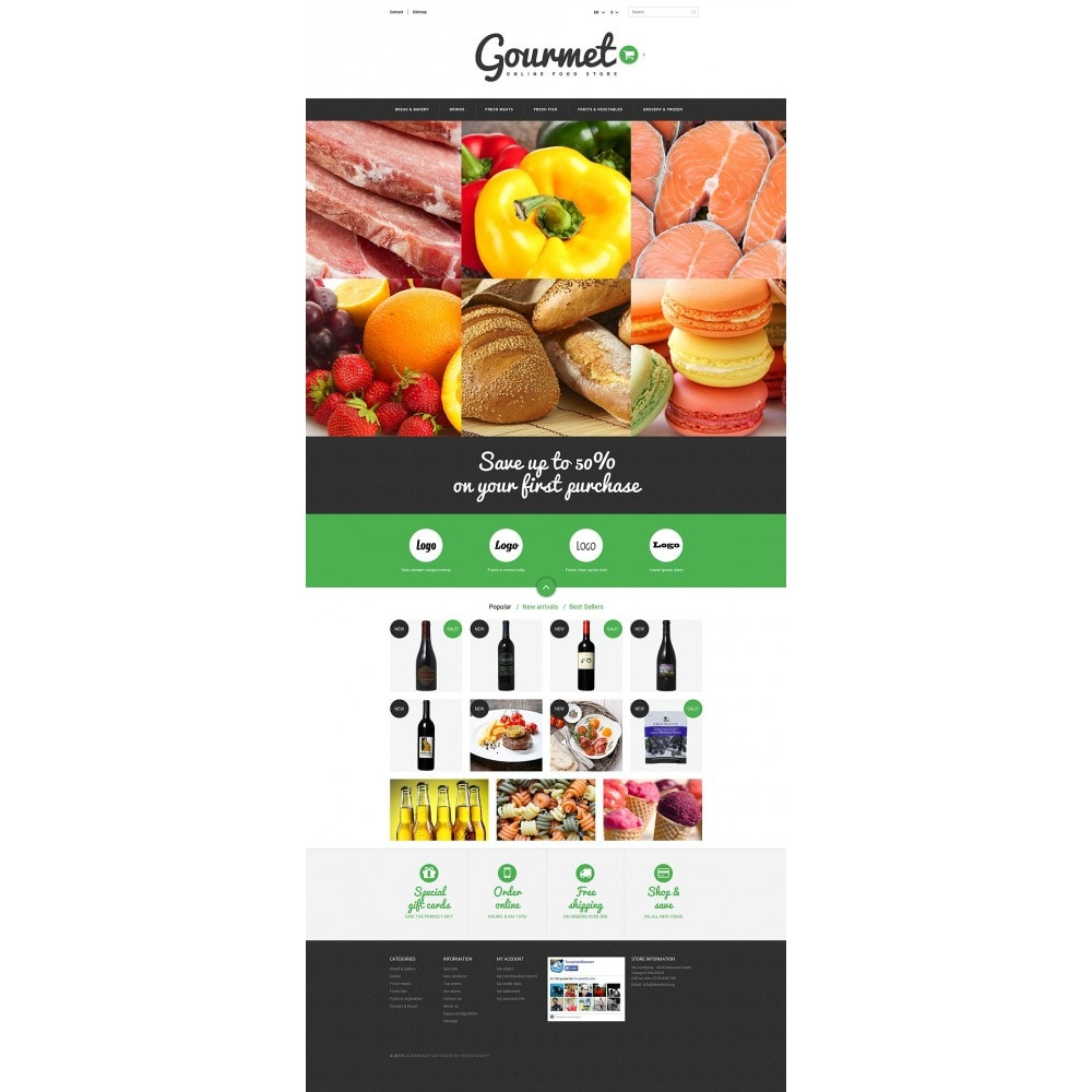 theme - Alimentos & Restaurantes - Food Shop - 2