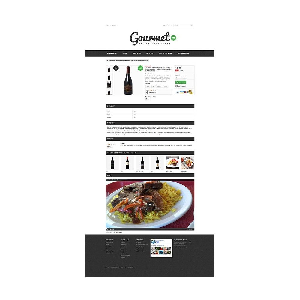 theme - Alimentation & Restauration - Magasin d'alimentation - 7